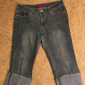 Goddess Jeans capri size 15 jeans